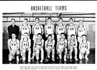 Anacortes basketball team