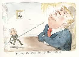 Trump testing